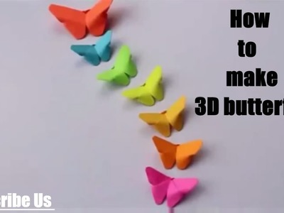 How to do 3D butterfly