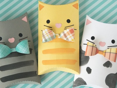 How to make a cat gift box