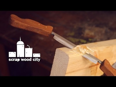 How to make a DIY draw knife from an old file