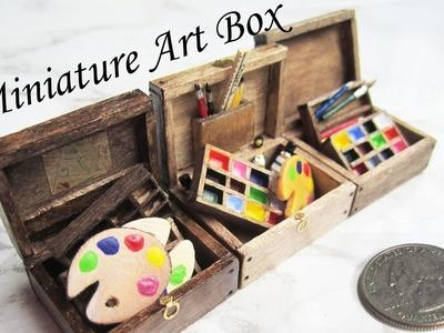 How To Make A Miniature Wooden Art Box