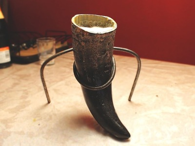 How to make a viking drinking horn