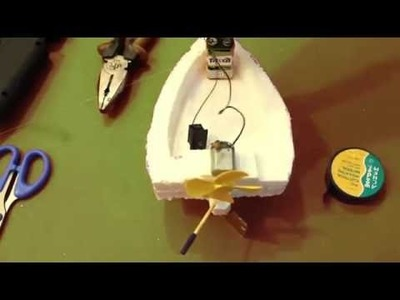 How to make an Electric Boat
