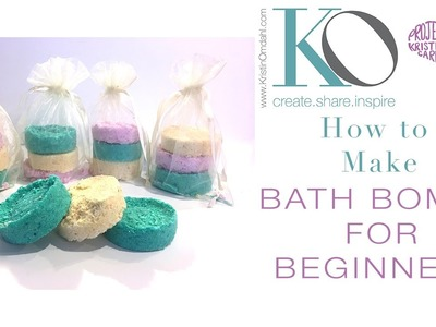 How to Make Bath Bombs for Beginners