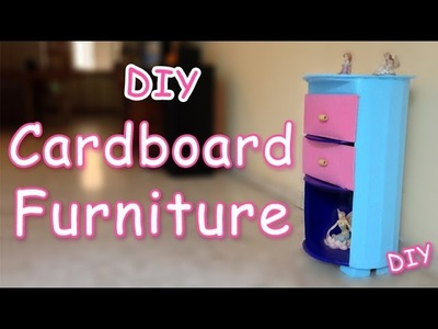 How to make Cardboard Furniture - Ana | DIY Crafts