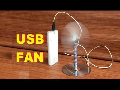 How to make USB Fan
