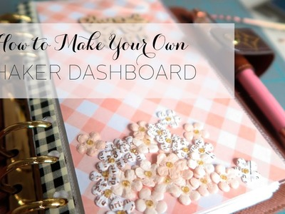 How to make your own Shaker Dashboard