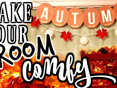 How to Make Your Room Cozy | Affordable DIY Tumblr Room Decor for Fall