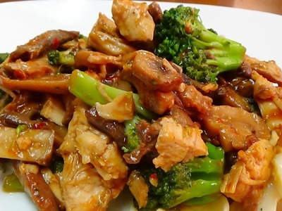 How To Recipe for Chicken and Broccoli Stir Fry Dish