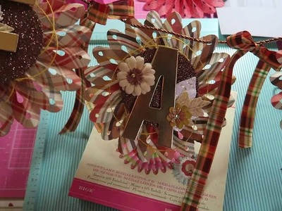 How To: Super Easy Tutorial~ ( My Fall Banner) Rosette No Dies Needed!!!