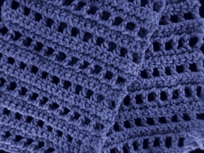 Lace OpenWork Crochet Scarf - Fun for All
