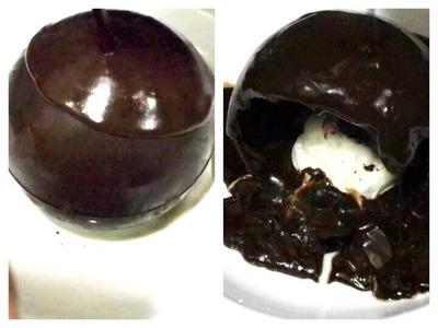 Magic Chocolate Ball Recipe. How to Make Chocolate Ball, Chocolate Ball Recipe. Chocolate Dessert.