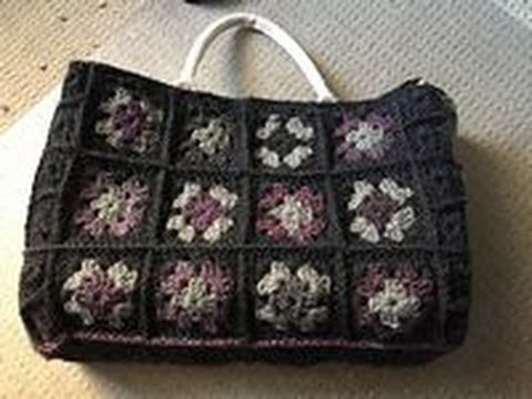 Ophelia Talks about Making a Crochet Shopping Bag (part 2)