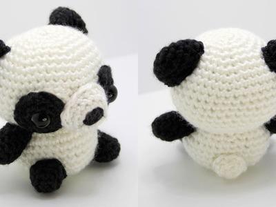 Panda Amigurumi Crochet Tutorial Part 1