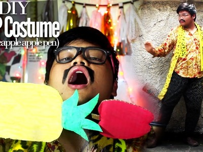 Pen Pineapple Apple Pen (PPAP) DIY Costume for Halloween! (PikoTaro) | DIY with Zymon B.