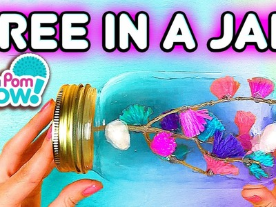 Pom Pom Wow DIY Tree In A Jar | Official PomPom Wow