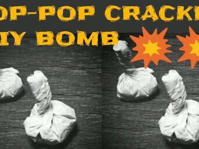 POP POP Cracker Bomb Snapper | How to make | Deewali | DIY Homemade | KesPra ✔