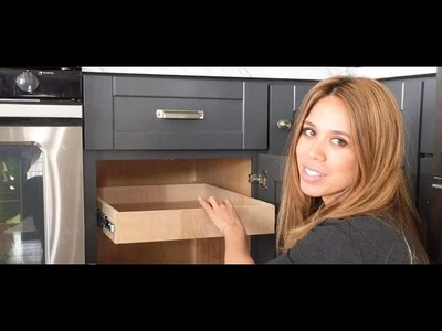 RYOBI NATION Presents: DIY Pull Out Drawer Tutorial by Ana White