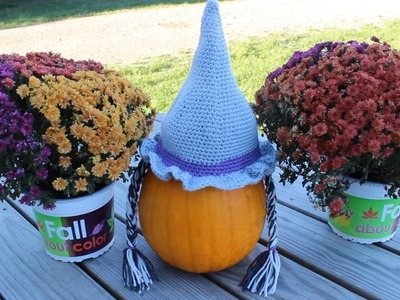 Toddlers Bewitching Crochet Hat