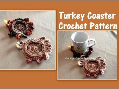 Turkey Coaster Crochet Pattern