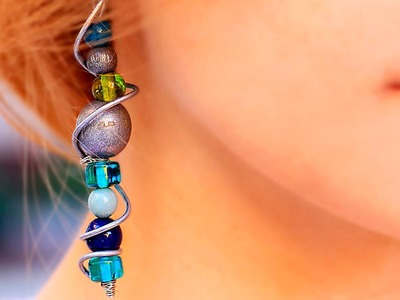 6 DIY Ideas How To Make Low cost Earrings