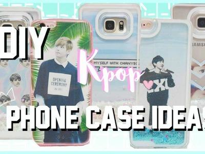 8 Kpop DIY Phone Cases Ideas ♡ Tumblr Inspired