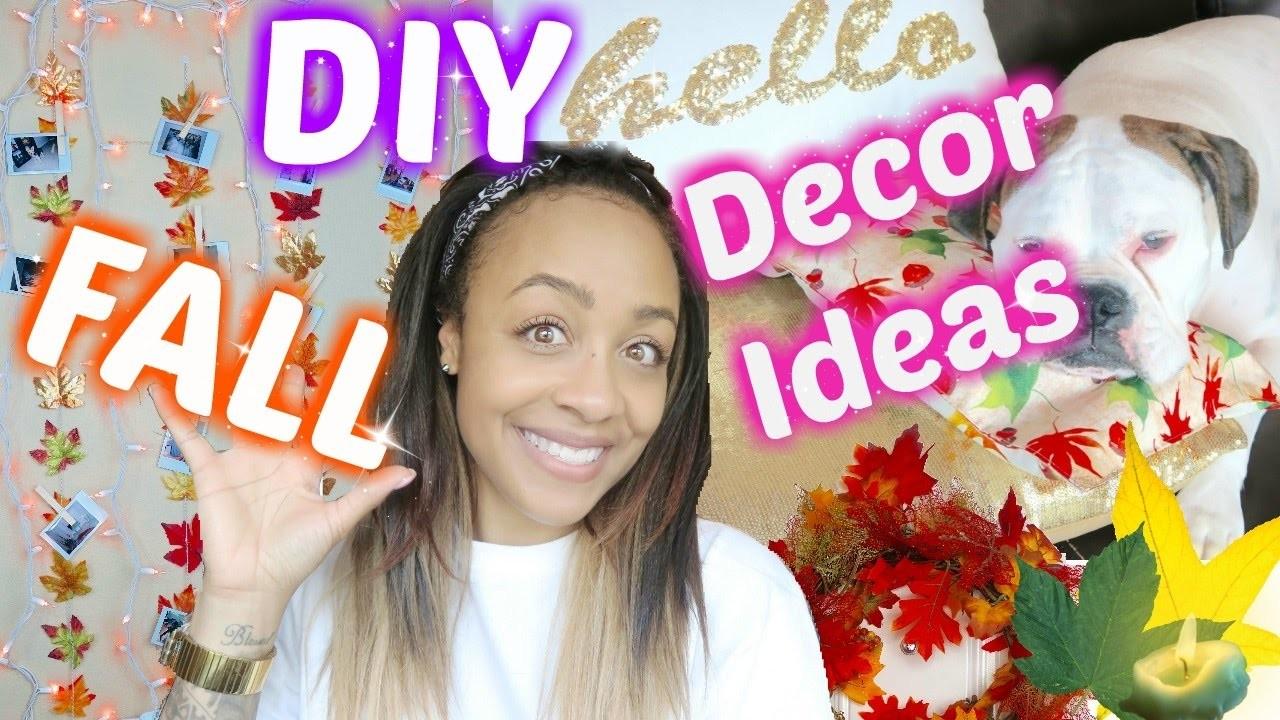 Cheap & Easy Fall DIY Decor!