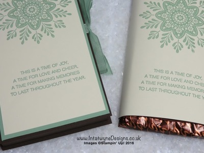 Crafty Christmas Countdown #7 -  Frosted Mediallion Chocolate Box