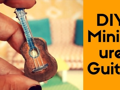 Crafty diy ideas to sell - DIY Crafts: Beautiful and Cute Miniature GUITAR | Doll House