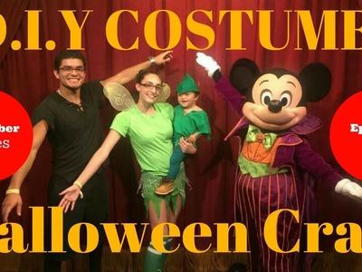 D.I.Y Kid's Peter Pan Halloween Costume