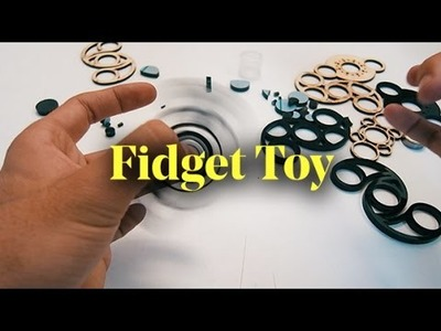 Designing and Making your own Fidget Toy - DIY Hand Spinner. Finger Spinner