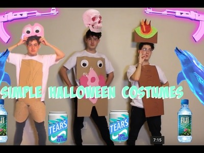 .DIY CHEAP & EASY HALLOWEEN COSTUMES. (GONE SEXUAL) ((GONE WILD))