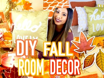 DIY Cozy Fall Room Decor 2016! Easy DIYS & MORE!