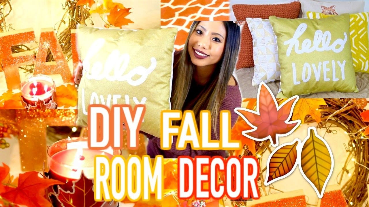 DIY Cozy Fall Room Decor 2016! Easy DIYS & MORE!