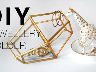 DIY EASY Necklace & Bracelet JEWELLERY HOLDER | ROOM DECOR - GIRAFFE DISH & GEOMETRIC OBJECT
