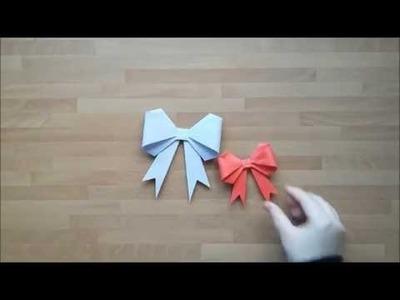 DIY EASY PAPER BOW | Gör Det Själv: Pappers Rosett
