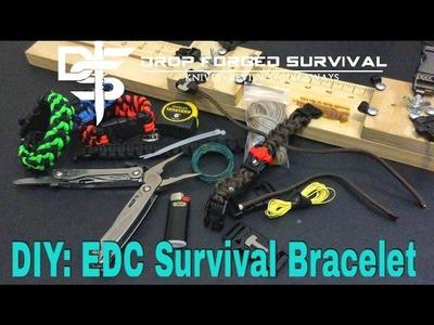DIY: EDC - Bugout - Survival - Evasion - Paracord Bracelet