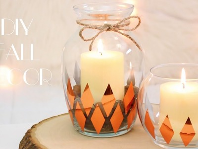 DIY Fall Decor! 2016