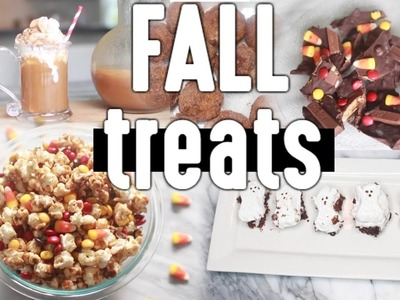 DIY Fall Snacks.Treats