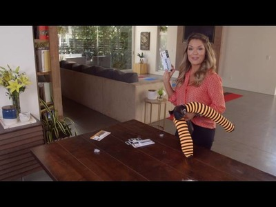 DIY Halloween Decorations with VELCRO® Brand and Sabrina Soto