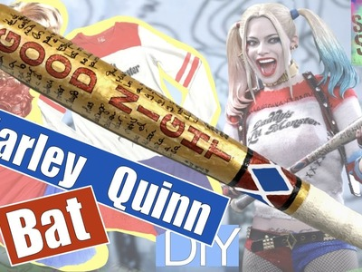 DIY Harley Quinn Suicide Squad bat. Part 2. Custome accesories