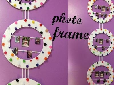 DIY! how to make cardboard photo frame (easy home decor idea)