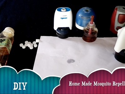 DIY: How to Make Home Made Mosquito Repellent | Camphor & Neem Oil | Easy to Make & Use