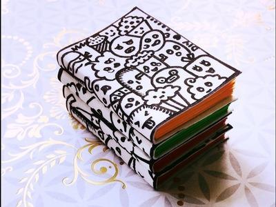 DIY Mini Felt Doodle Note Books | Karthika Loves DIY
