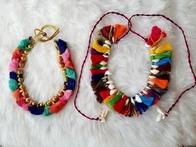 DIY Navratri Jewellery