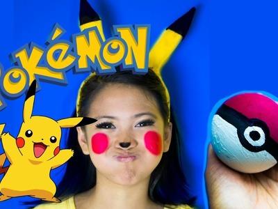 DIY Pikachu Pokemon EASY Halloween Costume!