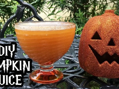 DIY Pumpkin Juice | Harry Potter