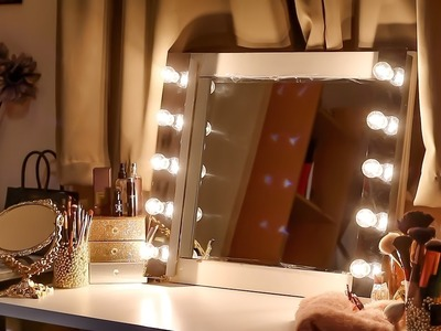 DIY SERIES: HOW TO MAKE A VANITY MIRROR WITH LIGHTS