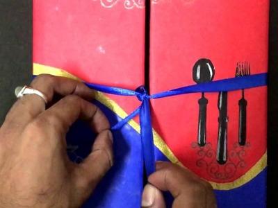 DIY Spanish Hotel Menu Book |Assignment| Amity University Gurgaon.