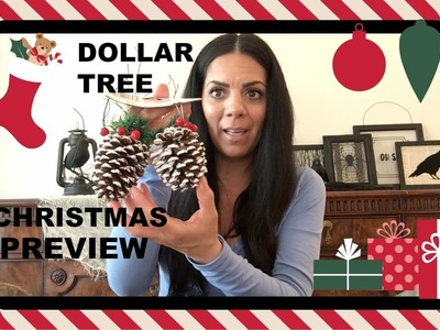 DOLLAR TREE CHRISTMAS PREVIEW