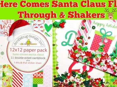 Doodlebug Christmas Paper Haul & Shakers!